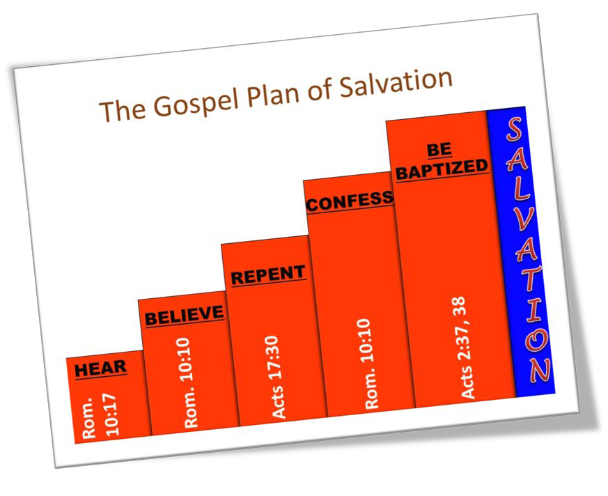 chart of plan of salvation